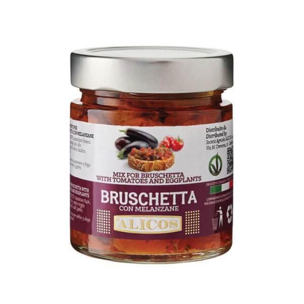 condimento per Bruschetta-melanzane Alicos