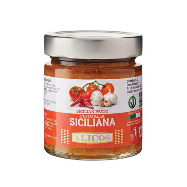 Alicos Prodotti Tipici Siciliani Pesto siciliana