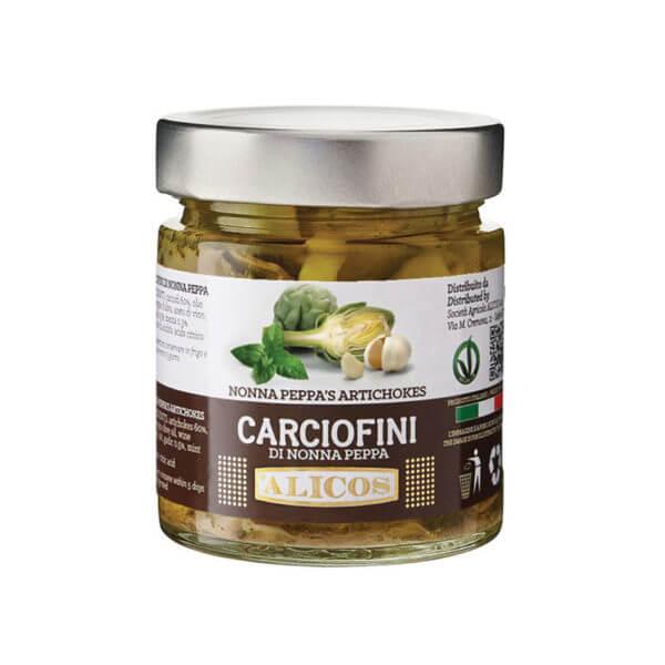 Alicos Prodotti Tipici Siciliani carciofini di nonna peppa