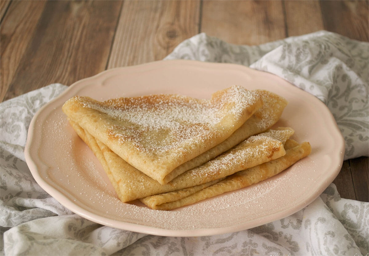 ricetta crepes dolci alicos