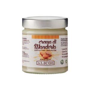crema di mandorle senza lattosio Alicos