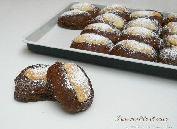 pane morbido al cacao ricette alicos