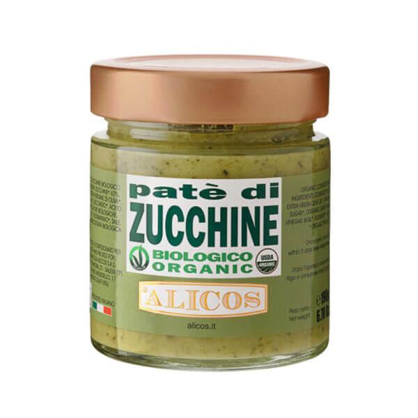 Alicos Prodotti Tipici Siciliani Patè di zucchine BIO