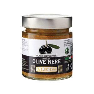 paté di olive nere alicos