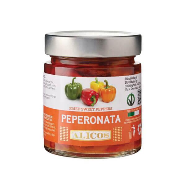 Alicos Prodotti Tipici Siciliani Peperonata 1