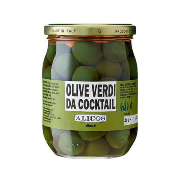 Alicos Prodotti Tipici Siciliani olive verdi