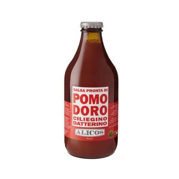 Alicos Typische sizilianische Produkte Datterino-Sauce